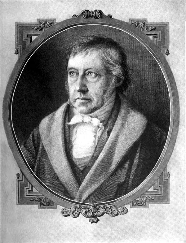 Гегель, Георг Вильгельм Фридрих