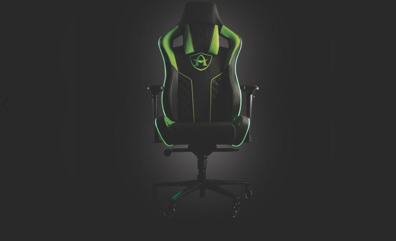Arcadeo продемонстрировали новое игровое кресло с тактильной системой SmartSense