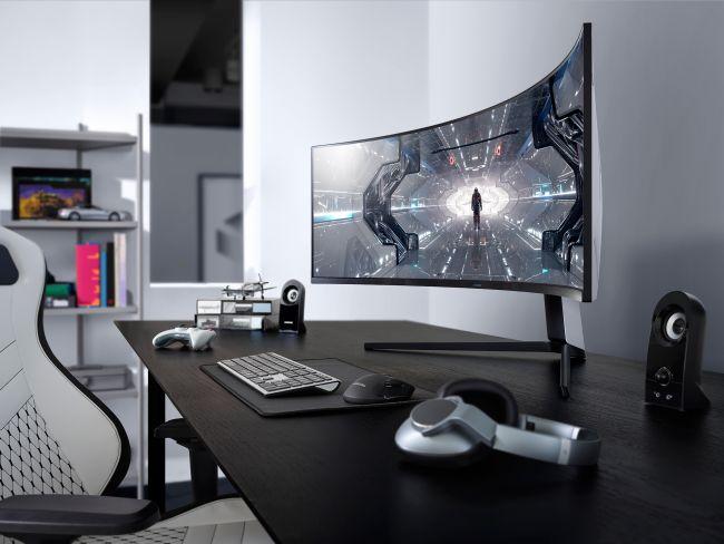 Samsung представил трио изогнутых игровых мониторов 1000R