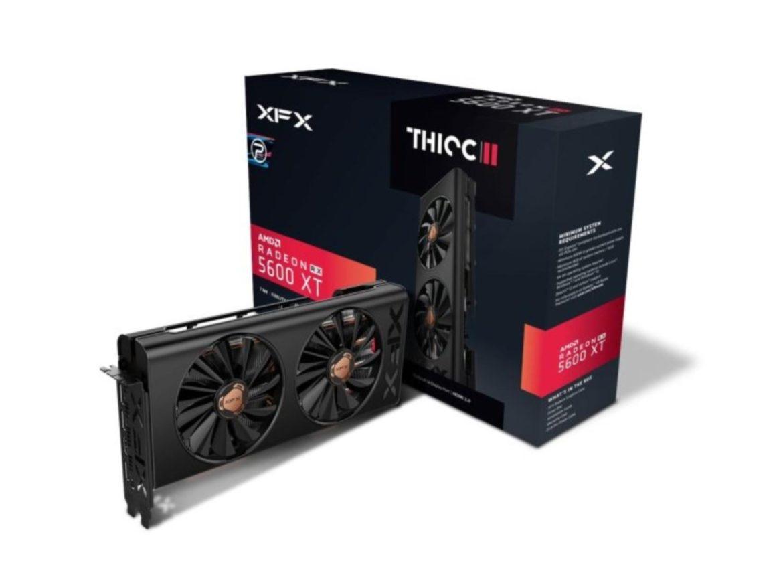 Утечка: стали известны характеристики AMD Radeon RX 5600 XT от Asrock, MSI и XFX