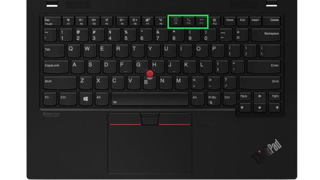 Клавиатура Lenovo ThinkPad X1 Carbon 8