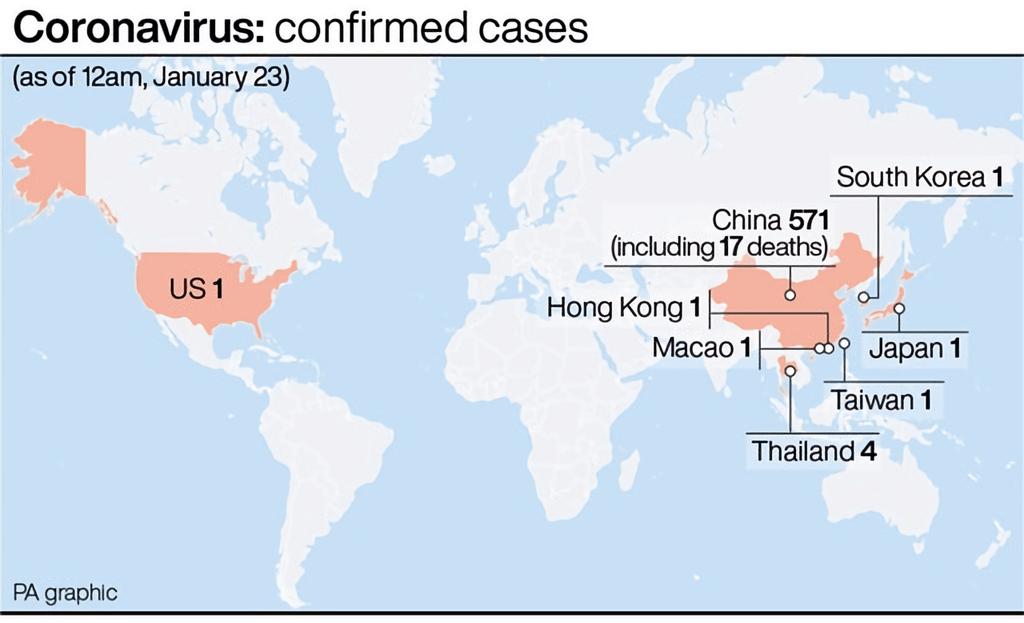 virus map