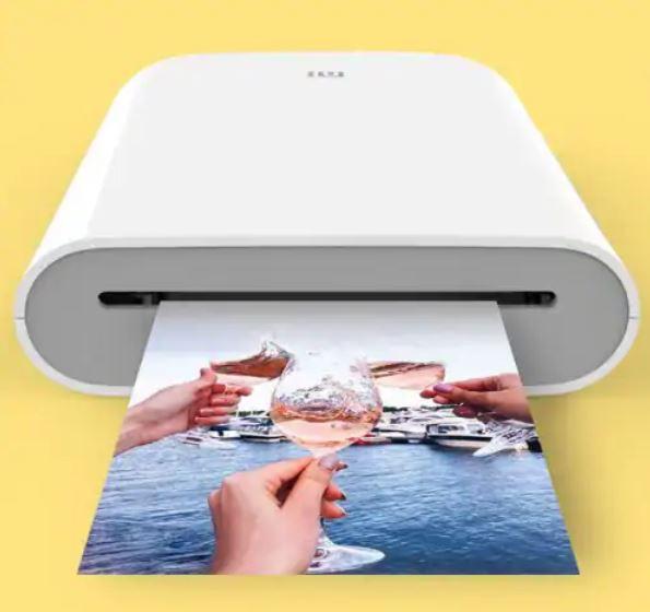 Xiaomi Pocket Photo Printer, вид спереди