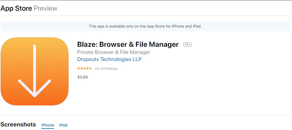 Blaze Browser & File Manager