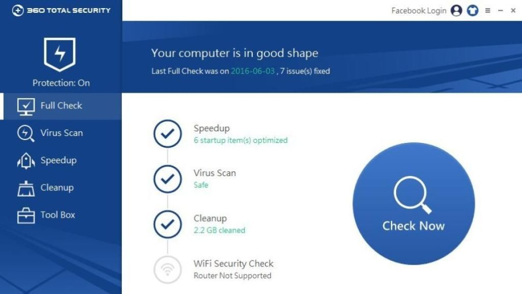 Qihoo 360 Total Security 8.6