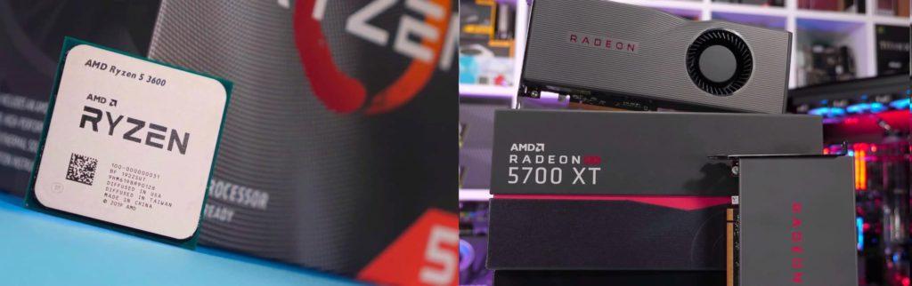 Самые продаваемые продукты AMD