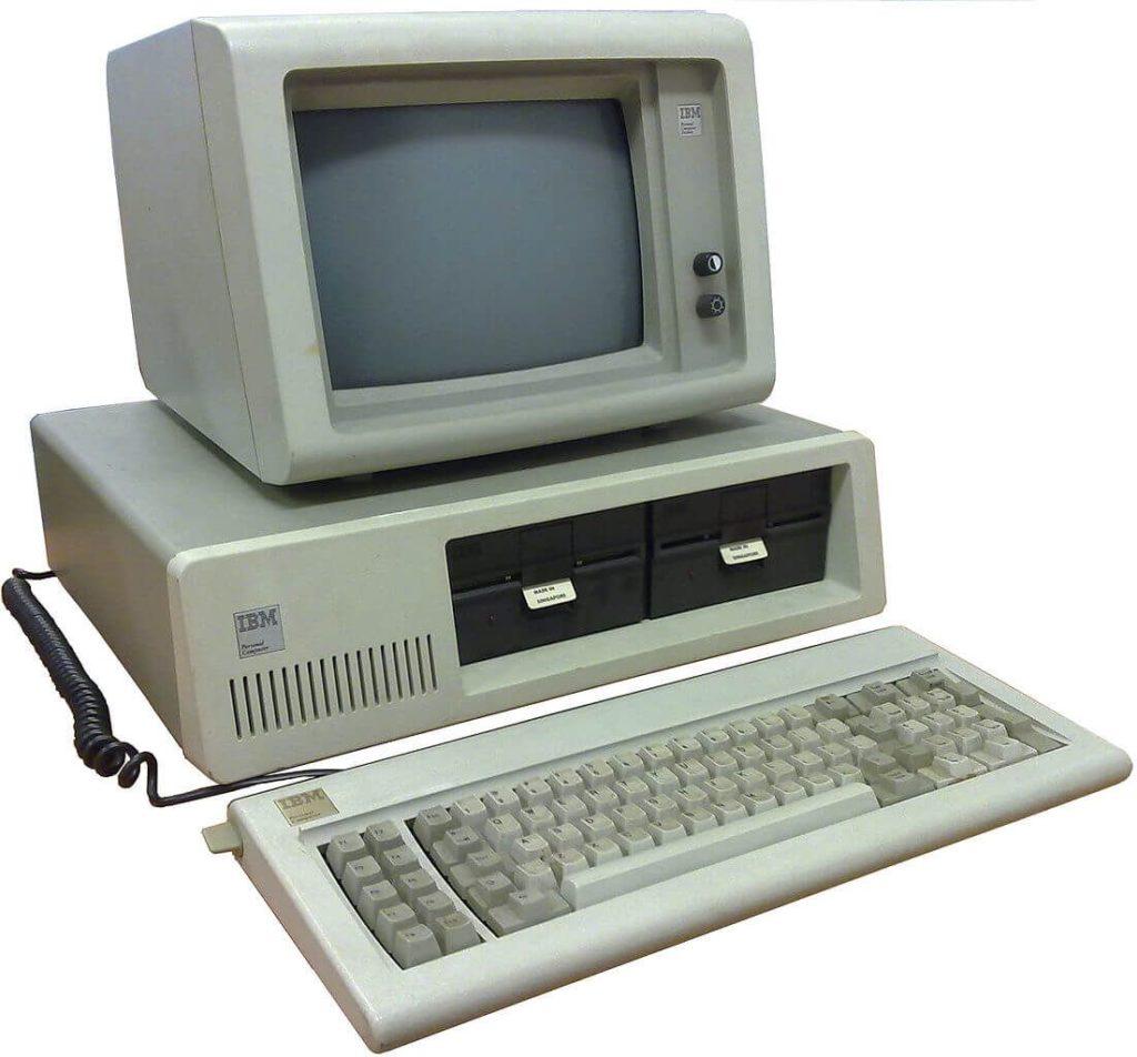 IBM 5150 PC 1981 года