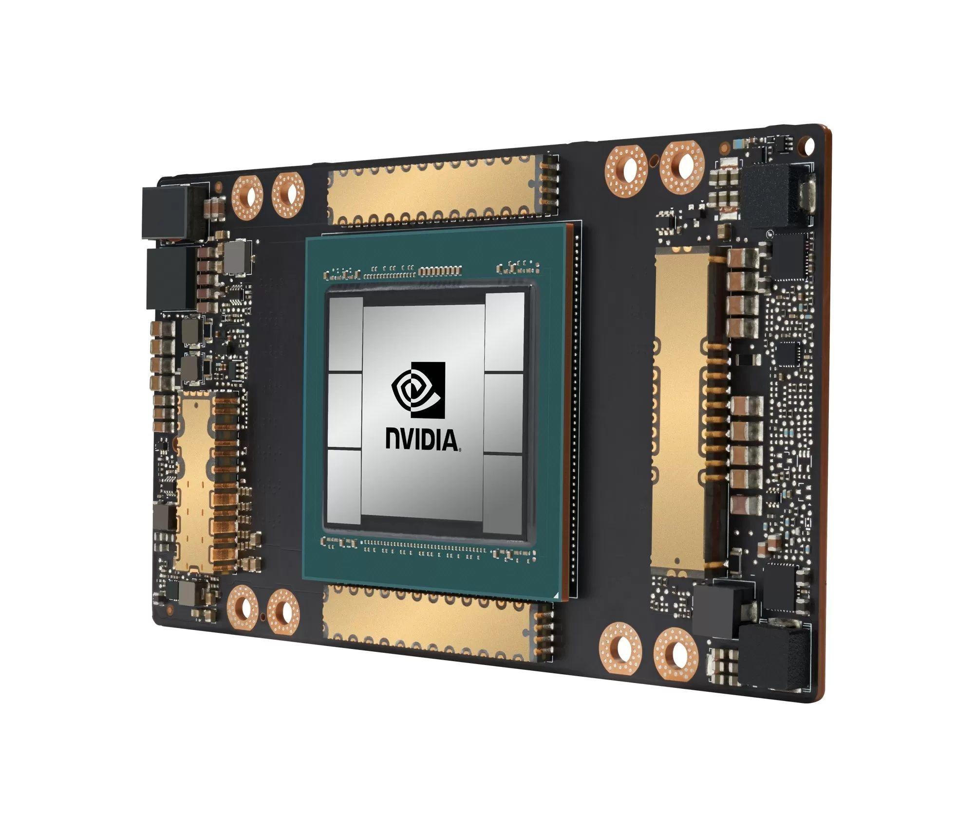 Графический процессор Nvidia GA100 с кэшем L1 20 Мб и L2 40 Мб