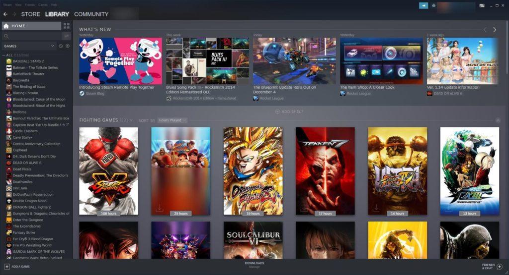 Сравнение магазинов игр Steam и Epic Games Store