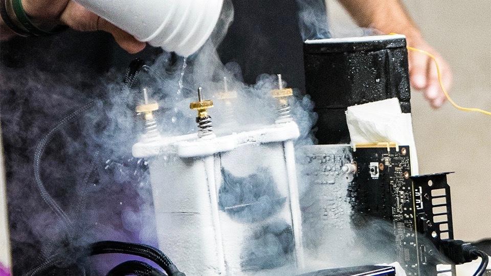Жидкий азот позволяет запускать Doom Eternal на скорости 1000 кадров/с