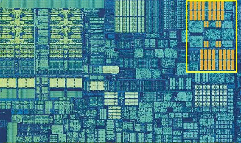 Кэш второго уровня процессора Skylake: 256 Кб SRAM