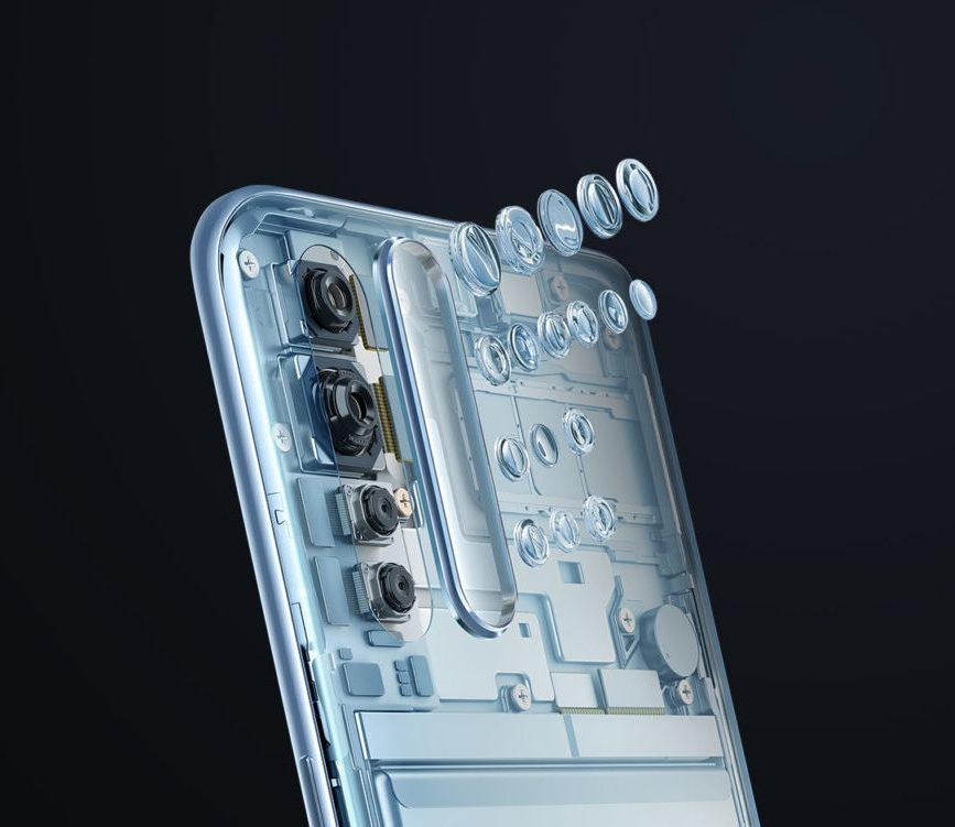 4 камеры Oppo A91