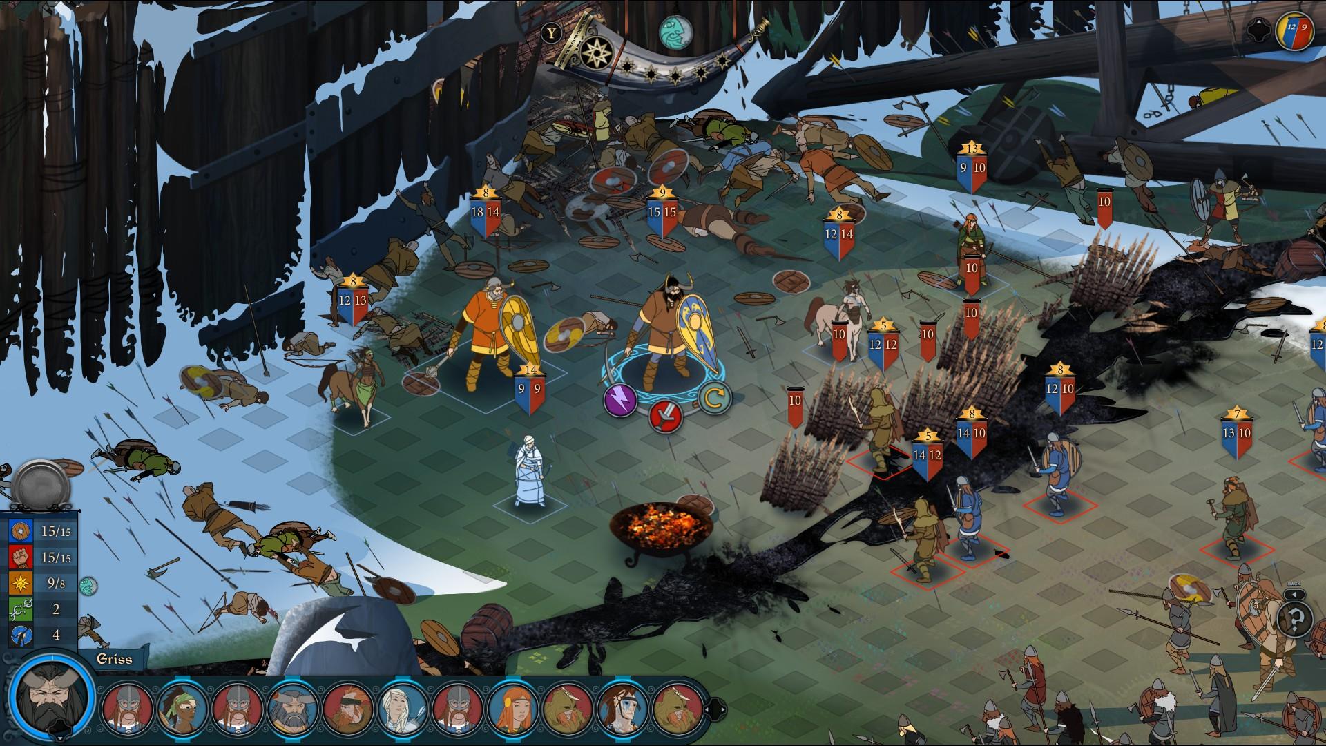 Banner Saga 3 Combat