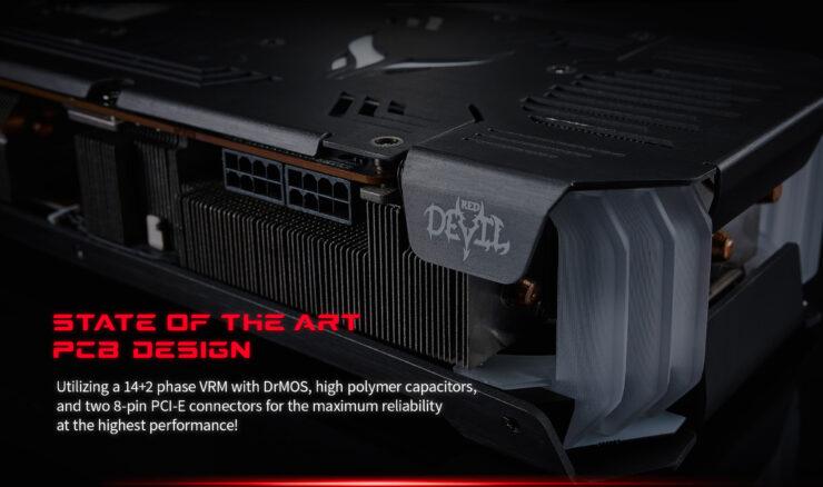 PowerColor представила видеокарты Radeon RX 6800 XT Red Devil с тремя вентиляторами