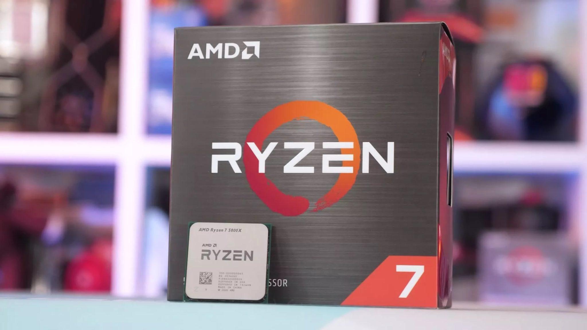 Ryzen коробка и процессор