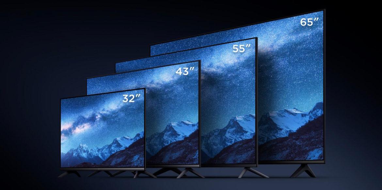 Разные размеры телевизоров