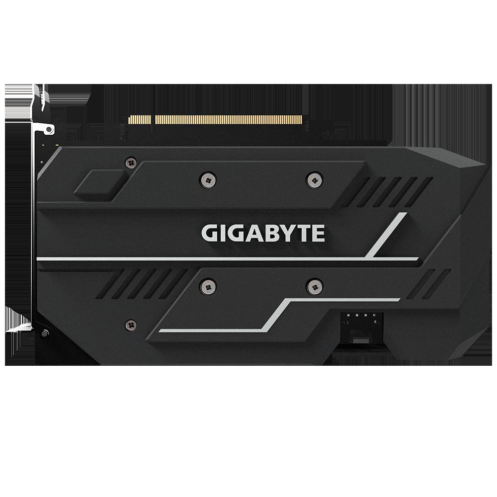 Gigabyte GeForce GTX 1660 OC 6G back
