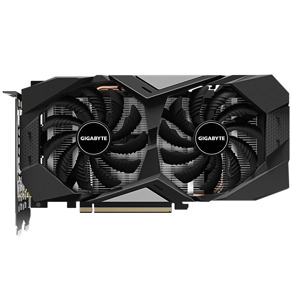 Gigabyte GeForce GTX 1660 OC 6G front