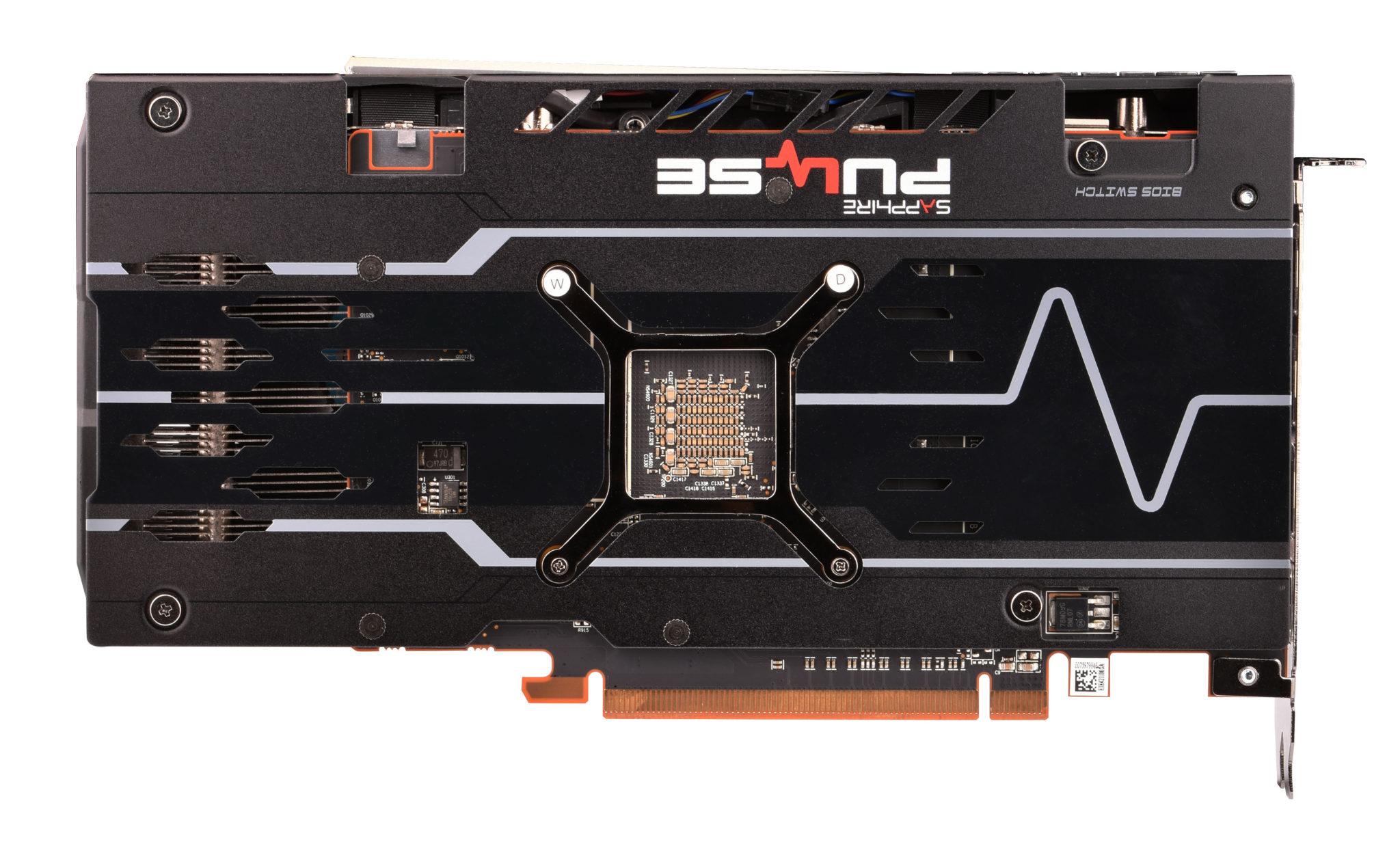 Sapphire Pulse Radeon RX 5500 XT сзади