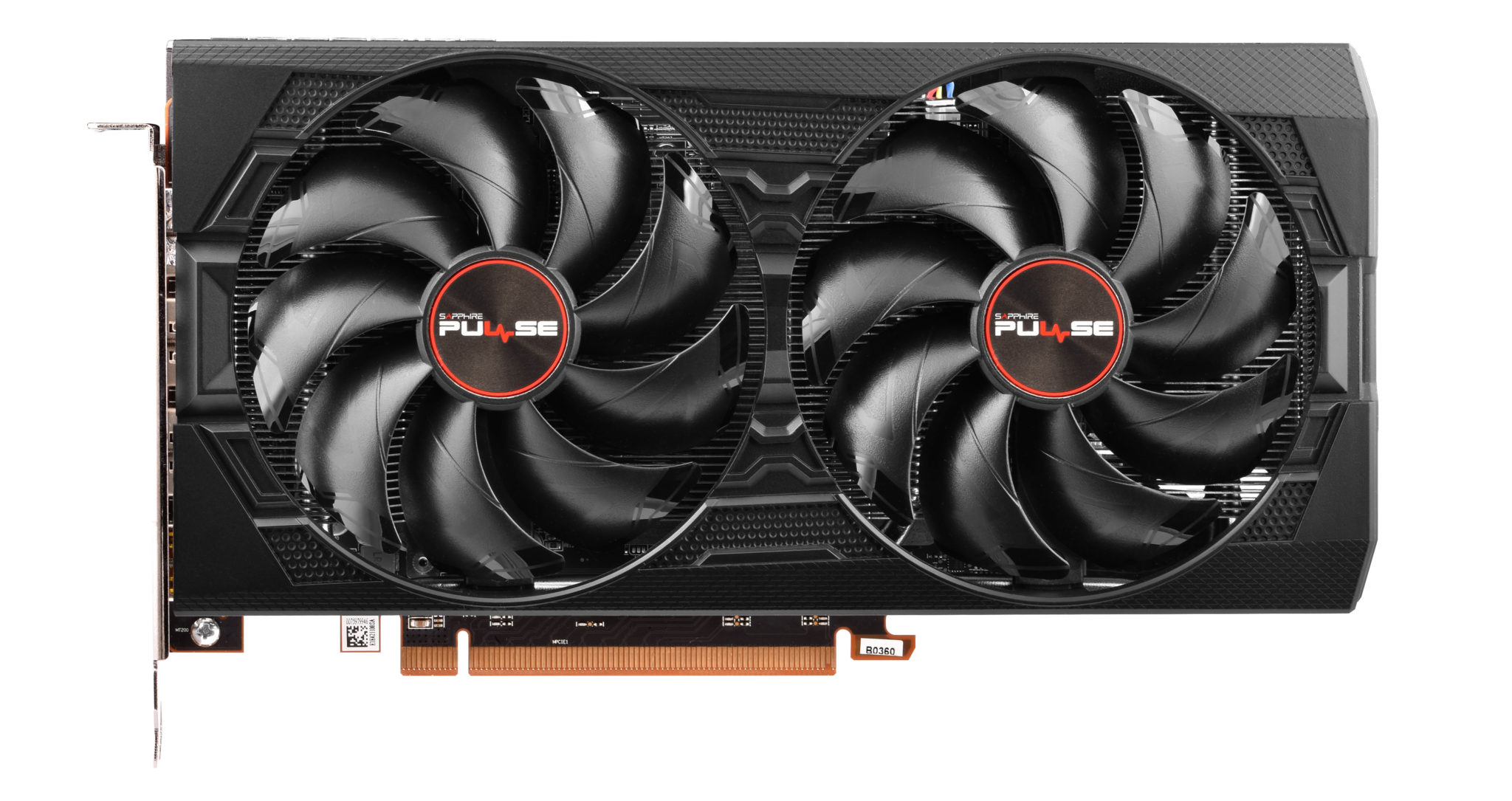 Sapphire Pulse Radeon RX 5500 XT спереди