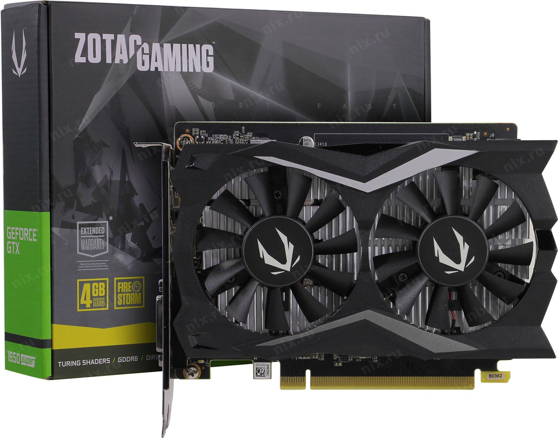 Zotac GeForce GTX 1650 Super Twin Fan