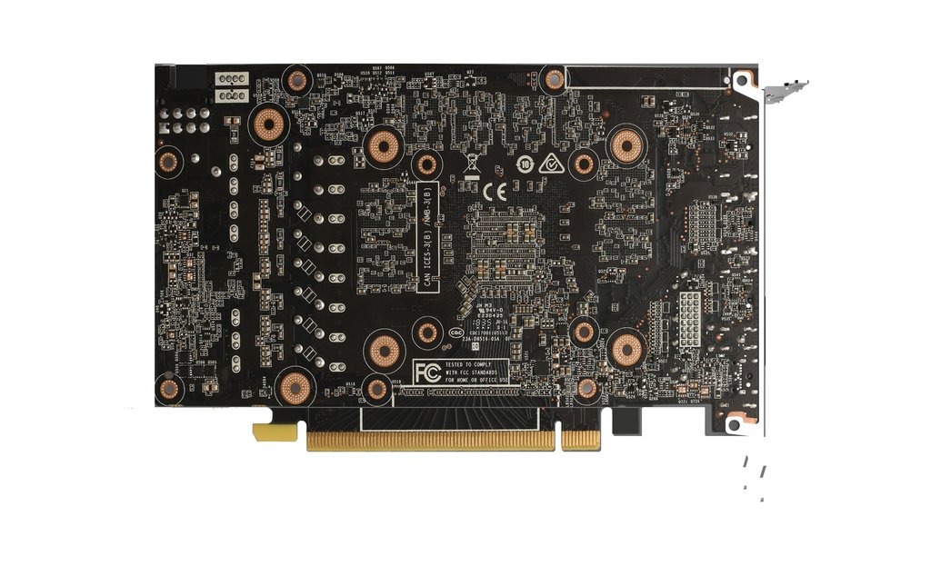 Zotac GeForce GTX 1660 Super Twin Fan back