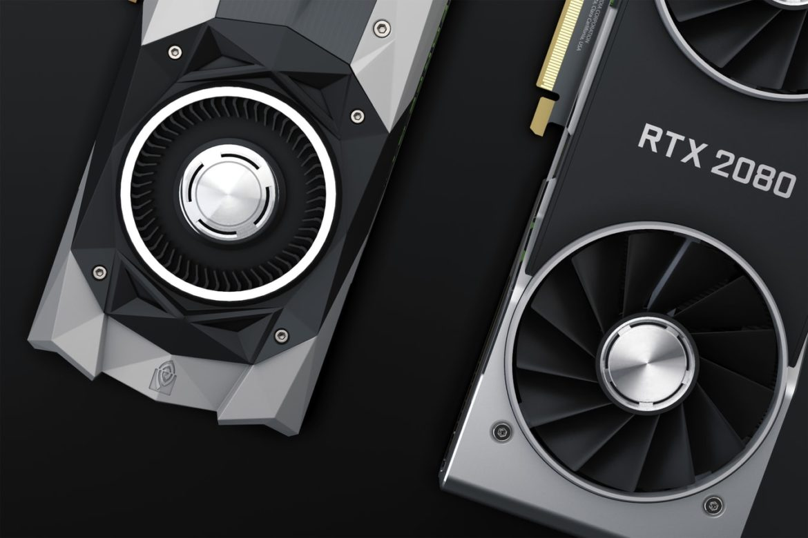 black and silver video cards