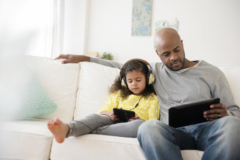 Делитесь аккаунтом с детьми и друзьями