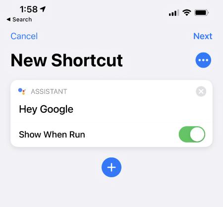 Избавьтесь от Siri и поставьте ассистент Google