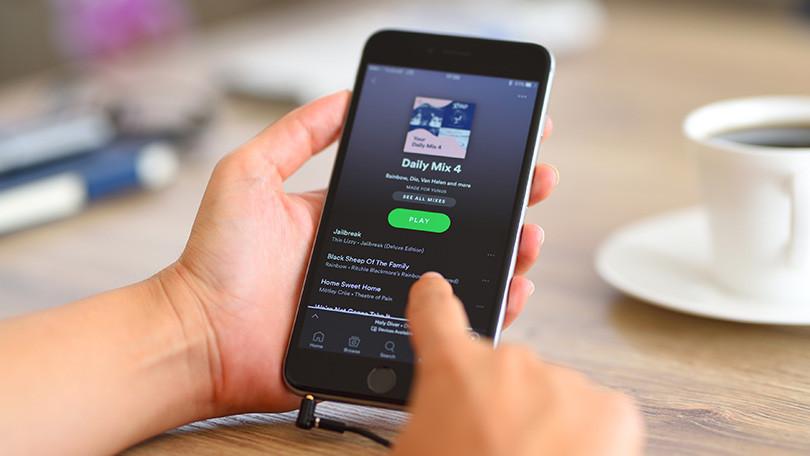 Создание списка воспроизведения Spotify