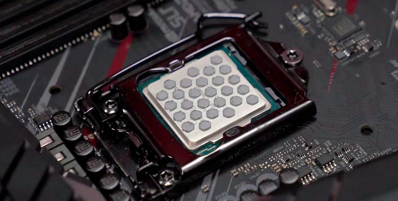 процессор с термопастой
