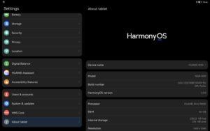 Представлены первые планшеты Huawei на Harmony OS