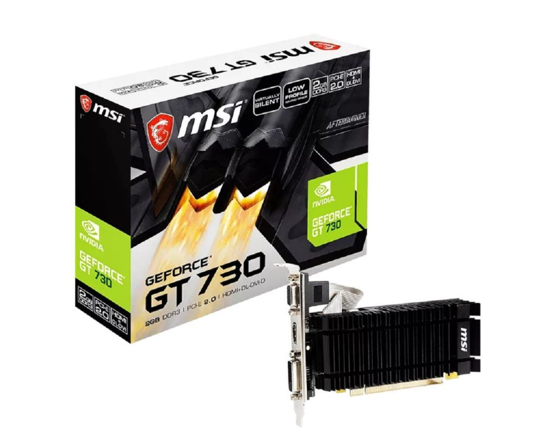 Коробка GeForce GT 730
