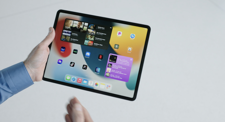 Виджеты iPad