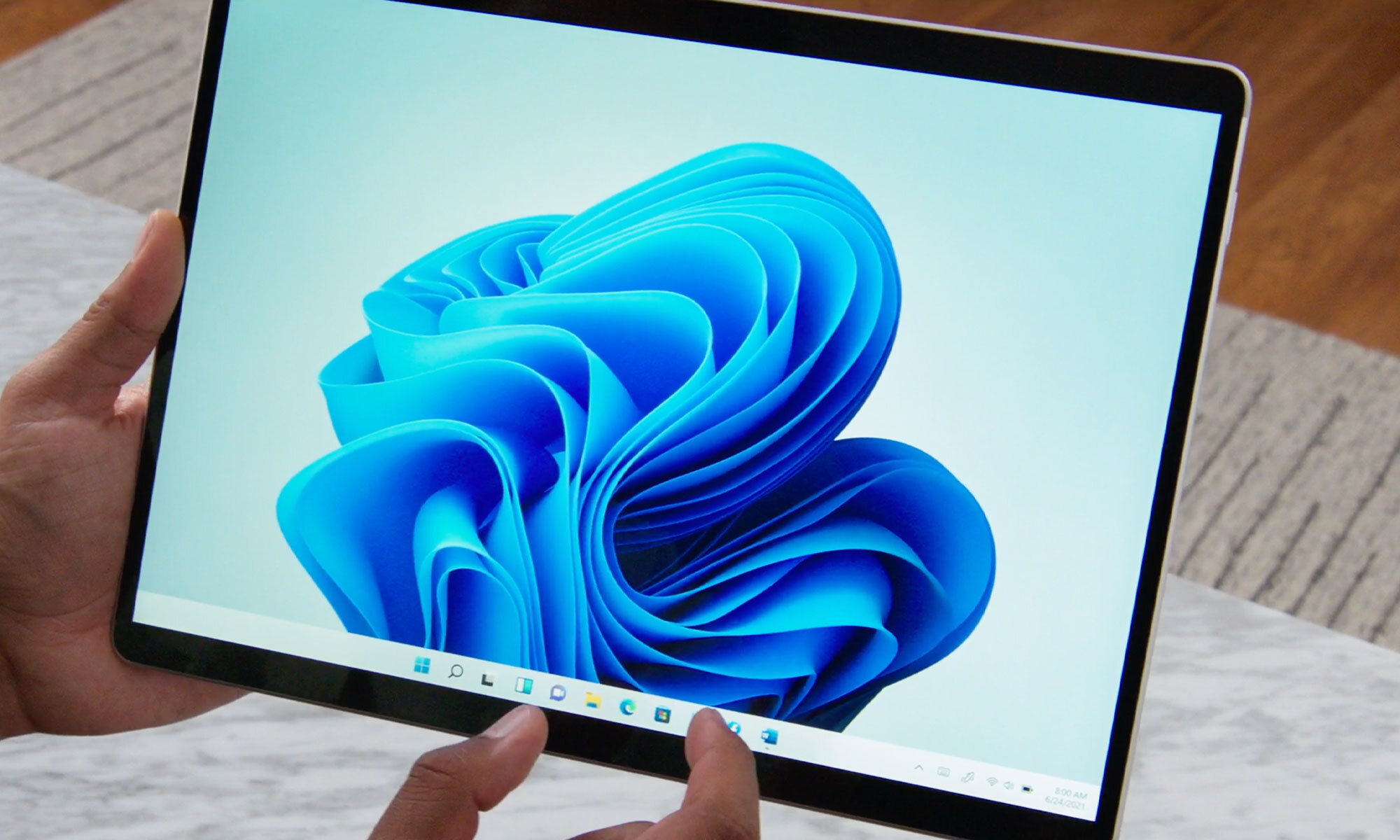 Windows 11 на планшете