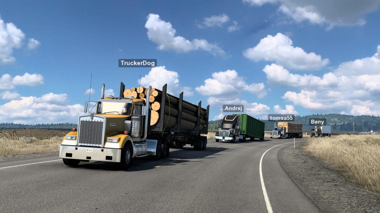Релиз сетевого режима в Euro и American Truck Simulator
