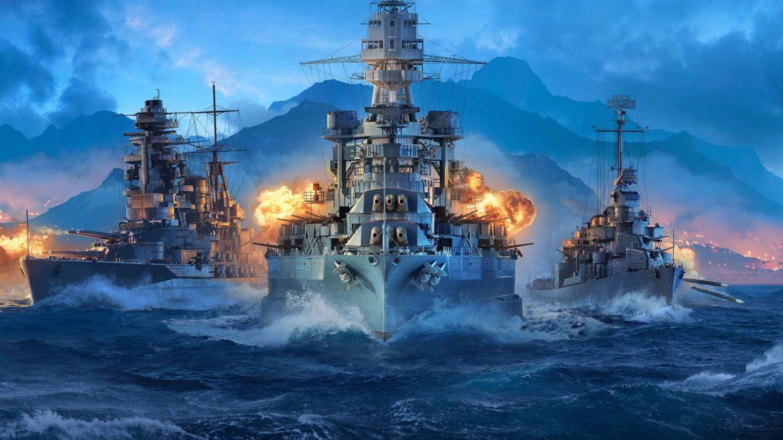 Новые корабли в World of Warships