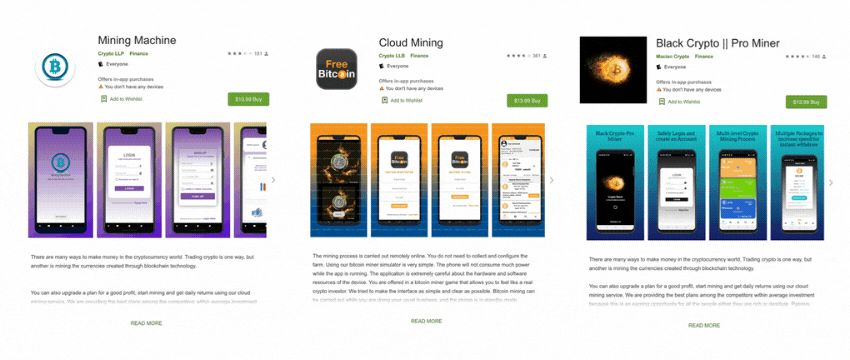 Криптовалютные приложения