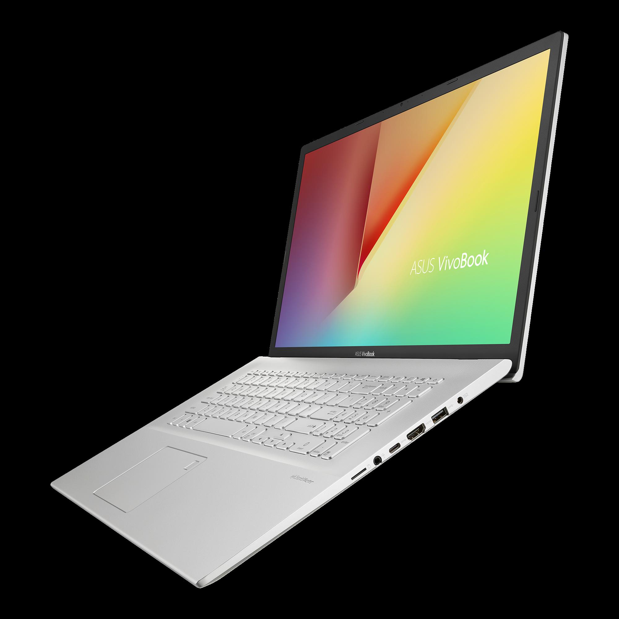 Asus VivoBook 17 M712 side