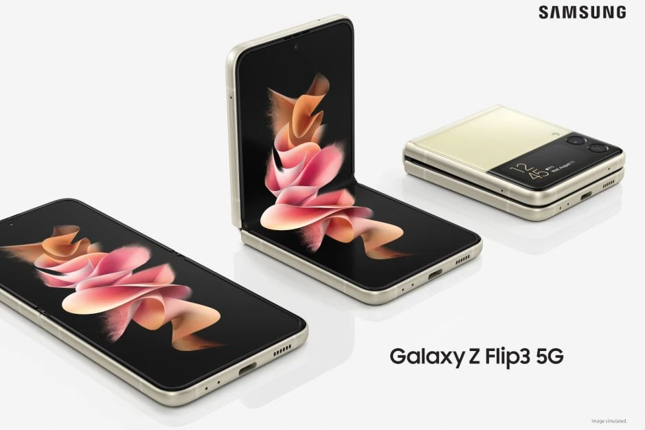 Samsung Galaxy Z Flip 3 5G дизайн