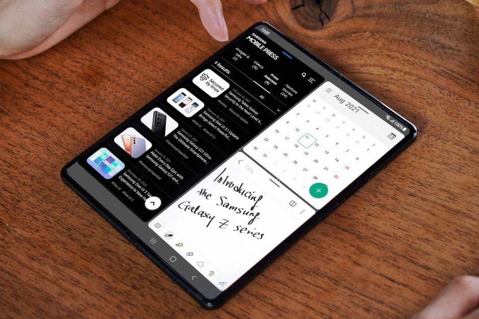Samsung Galaxy Z Fold 3 5G заметки