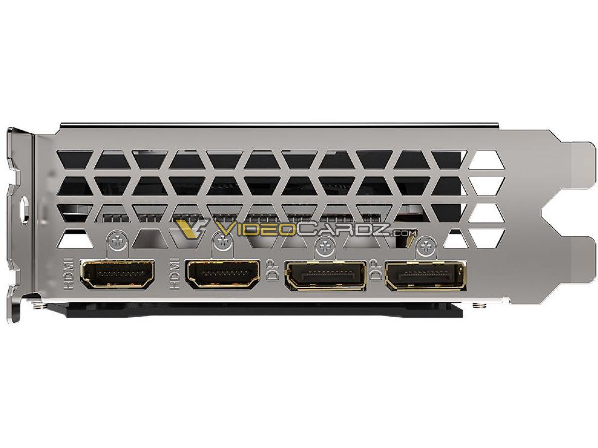 Gigabyte Radeon RX 6600 Eagle сбоку