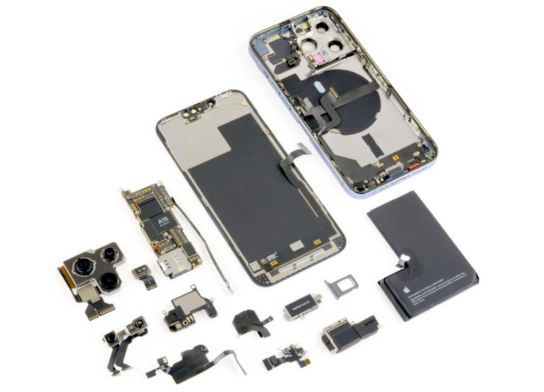 iPhone разобранный